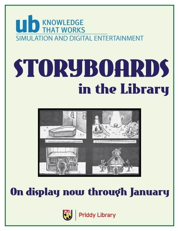 University of Baltimore Storyboards 2017